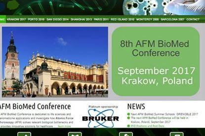 Conference website for the AFM BioMed Conference serie.