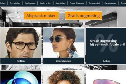 Responsive website for opticien with CMS in Hengelo.