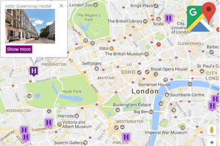 Picture for category Google Maps Locator for nopcommerce - demo
